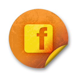 100720-orange-grunge-sticker-icon-social-media-logos-facebook-logo-square