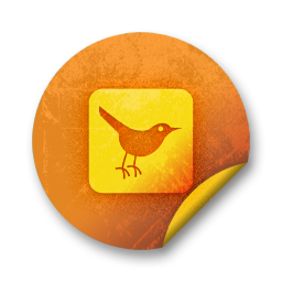 100790-orange-grunge-sticker-icon-social-media-logos-twitter-bird3-square